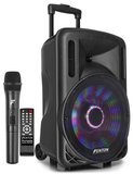 """FT12LED Portable Sound System met Accu 12"""" 700W BT_"""
