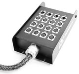 PD Connex Stage Snake 12-in 4-out XLR 15 metres_