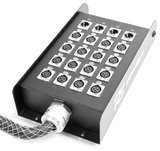 PD Connex Stage Snake 16-in 4-out XLR 30 meter_