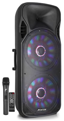 FT215LED Portable Sound System 2x 15