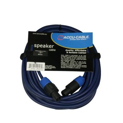 Accu-Cable AC-SP2-2,5/ 10 meter