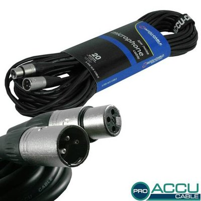 Accu-Cable Pro AC-PRO-XMXF/20 meter