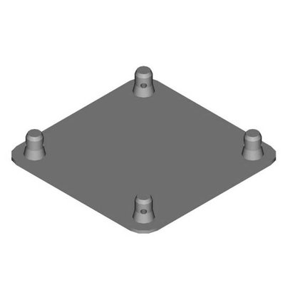 Duratruss DT 34 BPM Base plate with Male half connector