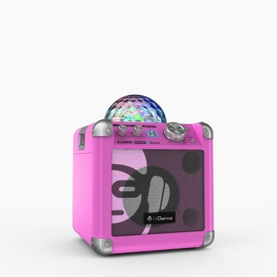 iDance Partybox Sing Cube BC100 pink