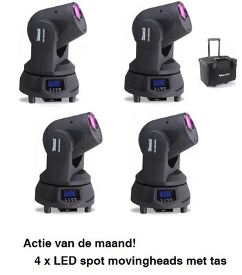 BeamZ Panther movingheads actie