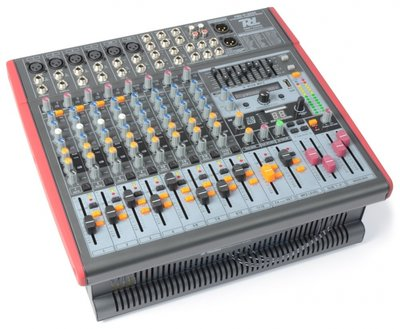 Power Dynamics PDM-S1203A Mixer Versterker 12-Kanaals DSP/MP3- USB IN/UIT