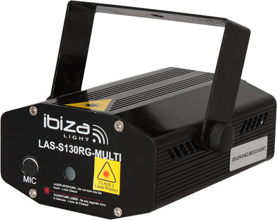 Ibiza Light LAS-S130RG-MULTI