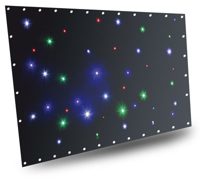 BeamZ SparkleWall LED36 RGBW 1x 2m met controller