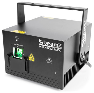 BeamZ Professional Phantom 2500 Pure Diode Laser RGB Analog