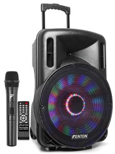 """FT15LED Portable Sound System met Accu 15"""" 800W BT"""