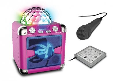 Idance audio Party Cube BC-5L pink